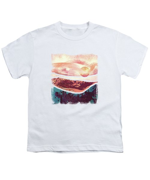 Coral Sky Youth T-Shirt by Katherine Smit