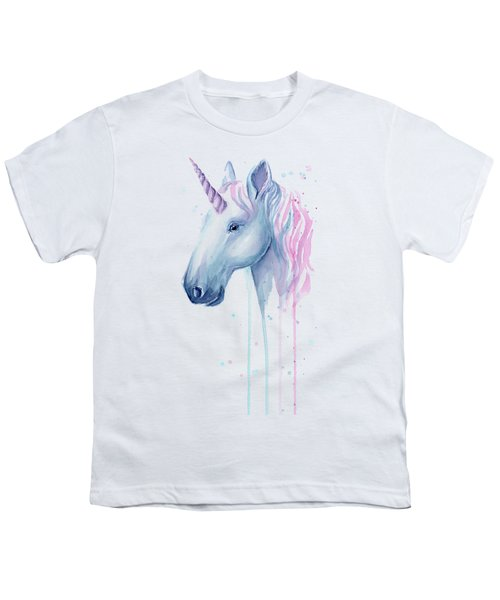 Cotton Candy Unicorn Youth T-Shirt
