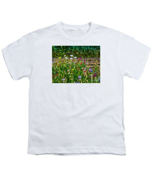 Country Wildflowers II Youth T-Shirt