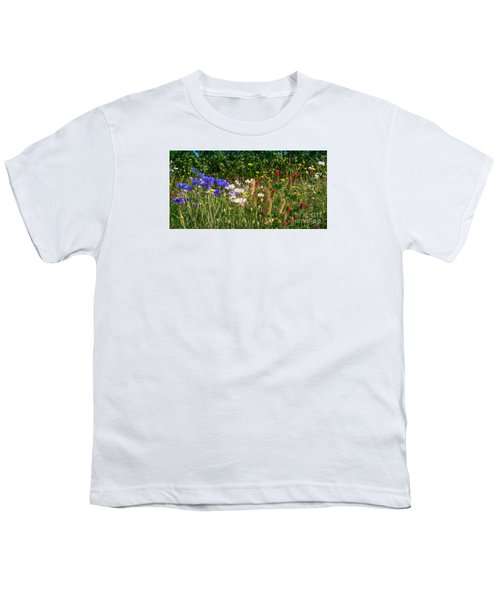 Country Wildflowers Iv Youth T-Shirt