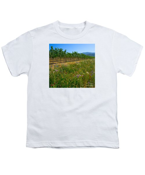 Country Wildflowers V Youth T-Shirt