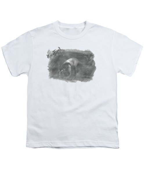 Creeping Panther Youth T-Shirt by Maria Astedt