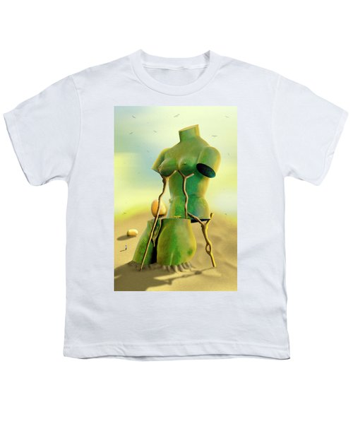 Crutches 2 Youth T-Shirt