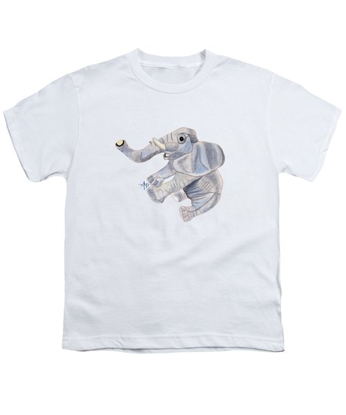 Cuddly Elephant IIi Youth T-Shirt
