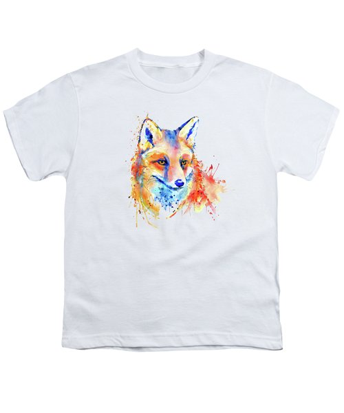 Cute Foxy Lady Youth T-Shirt by Marian Voicu