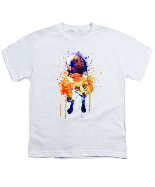 Cute Happy Fox Youth T-Shirt