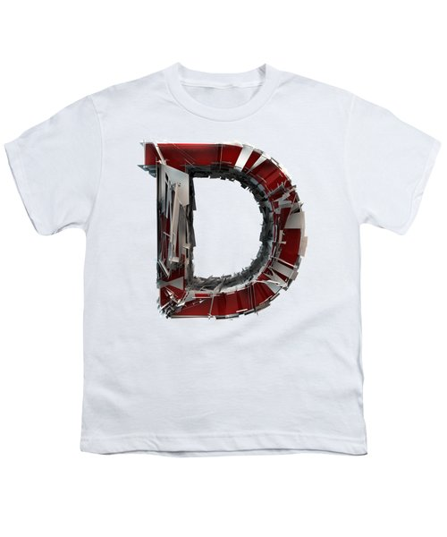 Youth T-Shirt featuring the photograph D Is For Dog by Gary Keesler