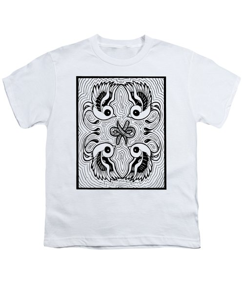 Da Boids Youth T-Shirt by Vicki Von Doom