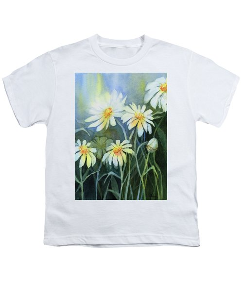 Daisies Flowers  Youth T-Shirt