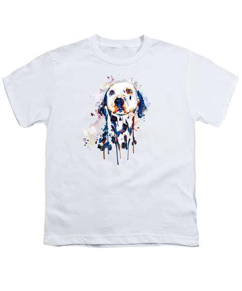 Dalmatian Head Youth T-Shirt