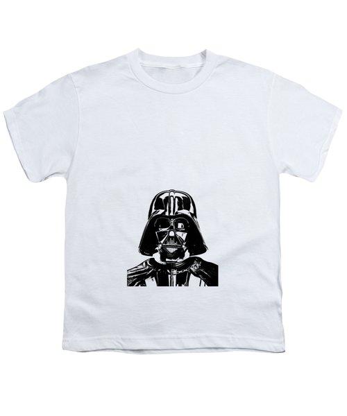 Darth Vader Painting Youth T-Shirt
