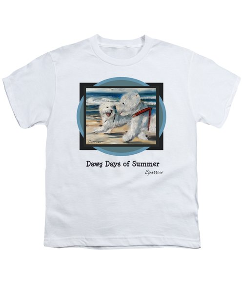 Dawg Days Of Summer Youth T-Shirt
