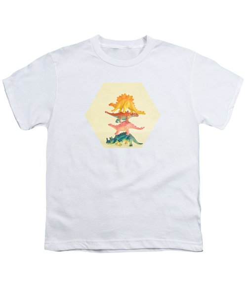 Dinosaur Antics Youth T-Shirt