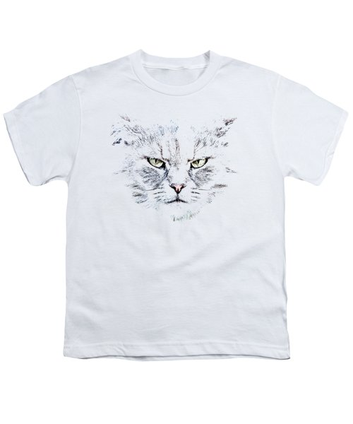 Disturbed Cat Youth T-Shirt