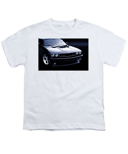 Dodge Challenger Blackbird Sr-71 Youth T-Shirt