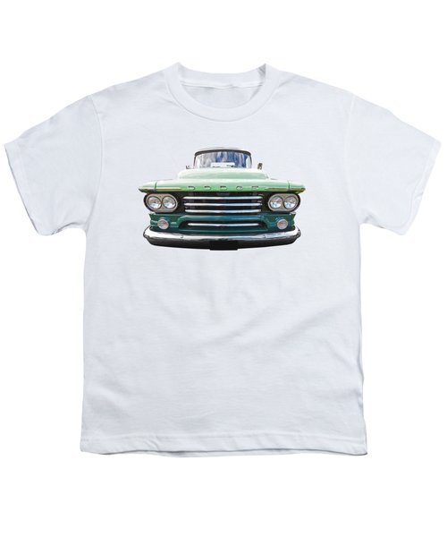 Dodge D100 Sweptside 1958 Youth T-Shirt