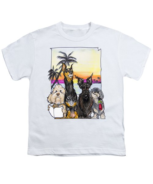 Dog Island Getaway Youth T-Shirt