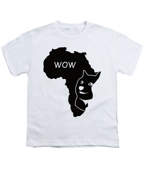 Dogecoin In Africa Youth T-Shirt by Michael Jordan