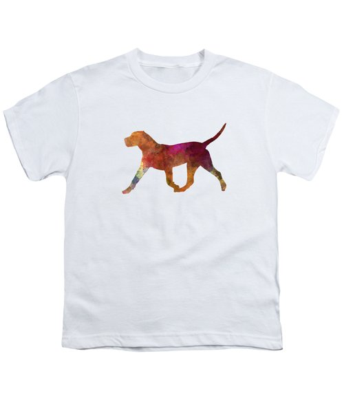 Dogo Canario In Watercolor Youth T-Shirt by Pablo Romero