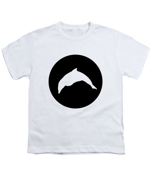Dolphin Youth T-Shirt by Mordax Furittus