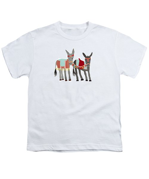 Donkeys Youth T-Shirt by Isoebl Barber