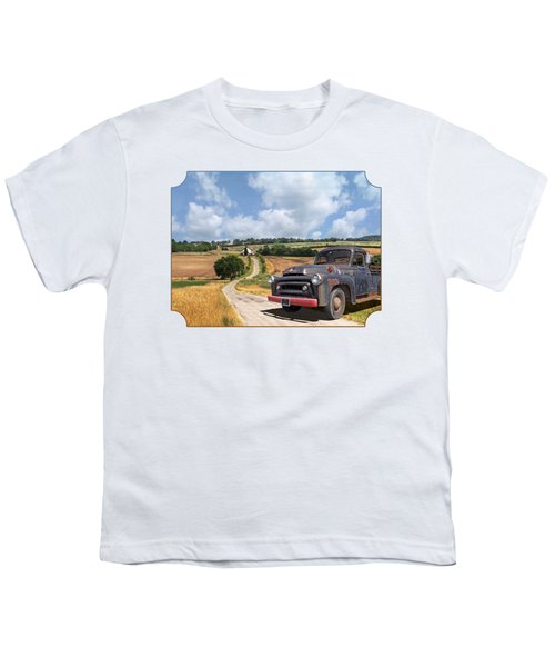 Down On The Farm - International Harvester S-100 Youth T-Shirt