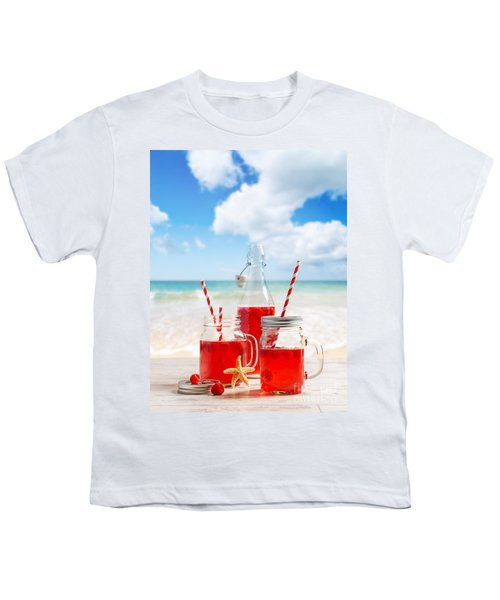 Drinks At The Beach Youth T-Shirt