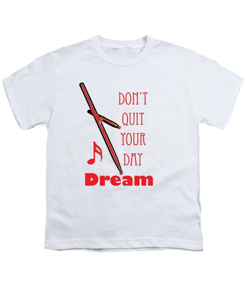 Drum Percussion Fine Art Photographs Art Prints 5020.02 Youth T-Shirt by M K  Miller