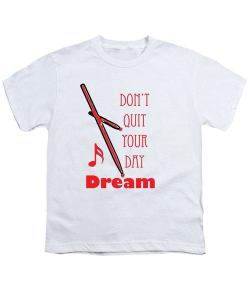Drum Percussion Fine Art Photographs Art Prints 5020.02 Youth T-Shirt