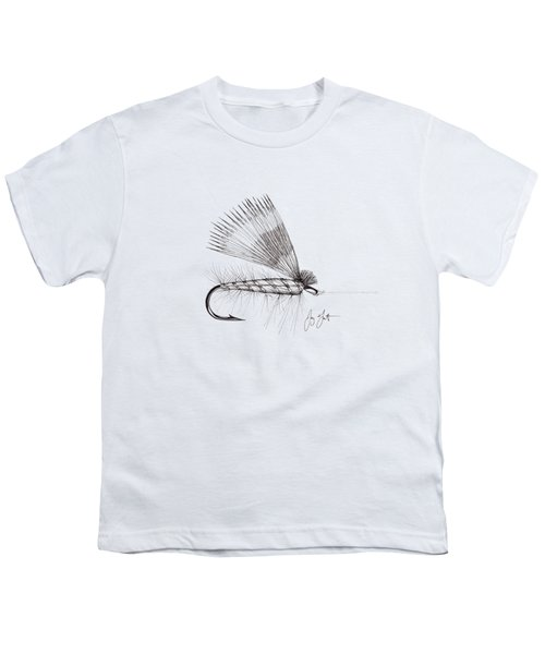 Dry Fly Youth T-Shirt by Jay Talbot