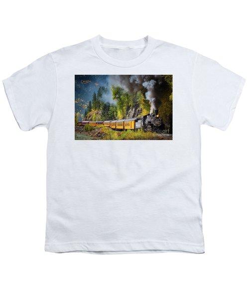 Durango-silverton Narrow Gauge Railroad Youth T-Shirt