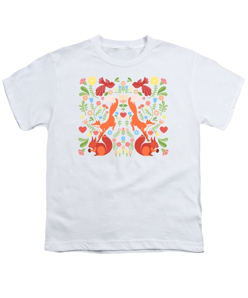 Early Fall Festival Flower Frolic  Youth T-Shirt