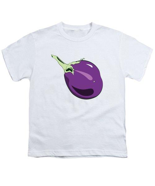 Eggplant Youth T-Shirt