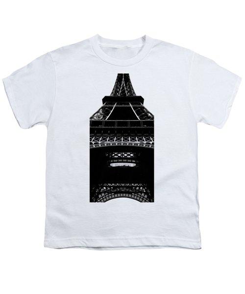 Eiffel Tower Paris Graphic Phone Case Youth T-Shirt