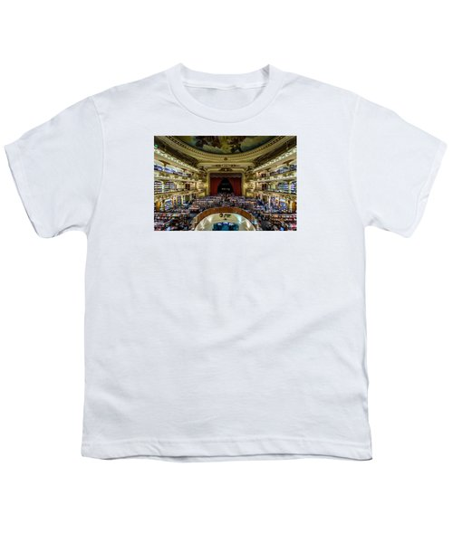 El Ateneo Grand Splendid Youth T-Shirt by Randy Scherkenbach