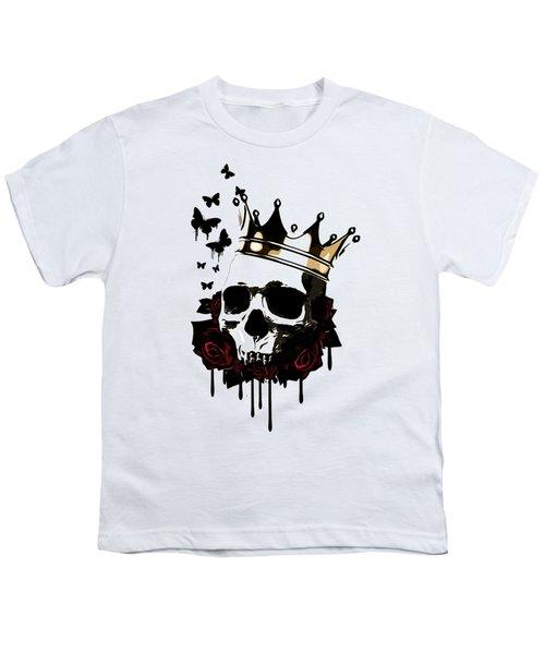 El Rey De La Muerte Youth T-Shirt by Nicklas Gustafsson