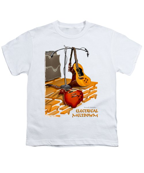 Electrical Meltdown Se Youth T-Shirt by Mike McGlothlen