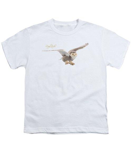 eRegal Studio Snowy Owl graphic Youth T-Shirt