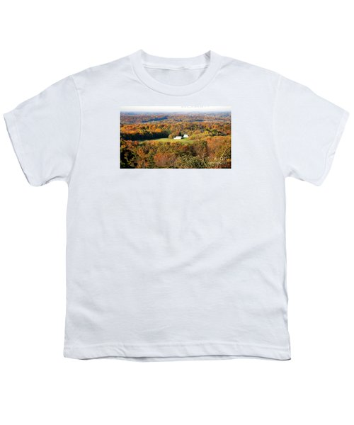 Youth T-Shirt featuring the photograph Erin Wisconsin  by Ricky L Jones