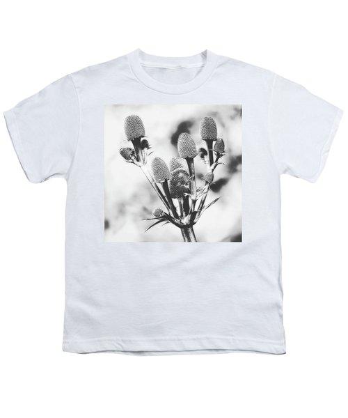 Eryngium #flower #flowers Youth T-Shirt