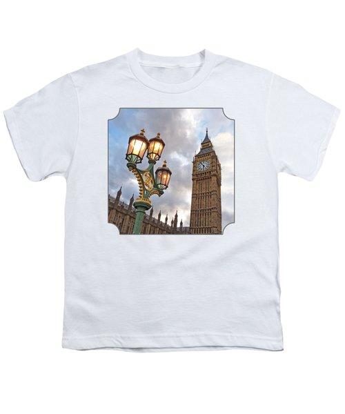 Evening Light At Big Ben Youth T-Shirt by Gill Billington
