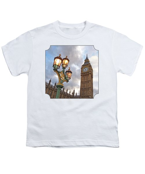 Evening Light At Big Ben Youth T-Shirt