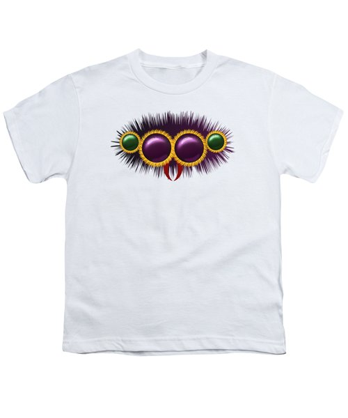 Eyes Of The Huge Hairy Spider Youth T-Shirt by Michal Boubin