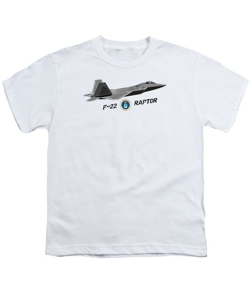 F22 Raptor Png Youth T-Shirt