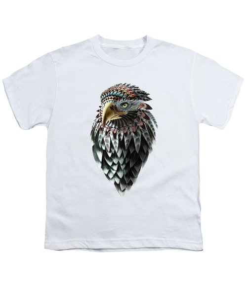 Fantasy Eagle Youth T-Shirt by Sassan Filsoof