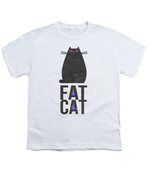Fat Cat Youth T-Shirt by Edward Fielding