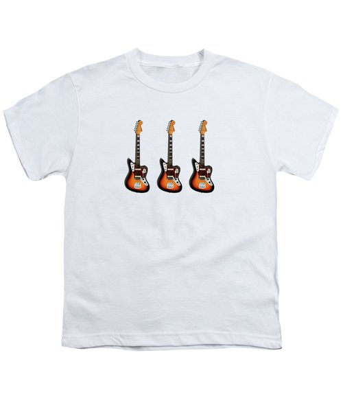 Fender Jaguar 67 Youth T-Shirt by Mark Rogan
