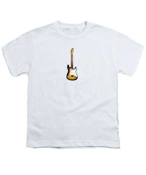 Fender Stratocaster 65 Youth T-Shirt by Mark Rogan