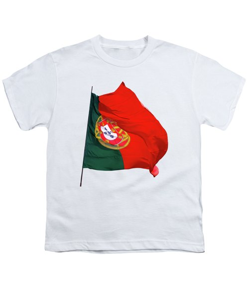 Flag Of Portugal Youth T-Shirt