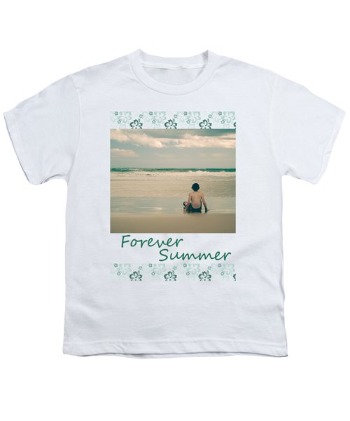 Youth T-Shirt featuring the photograph Forever Summer 7 by Linda Lees